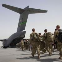 Image: US troops leave Afghanistan