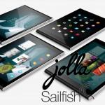Tablet đầu tiên chạy hệ điều hành Sailfish OS