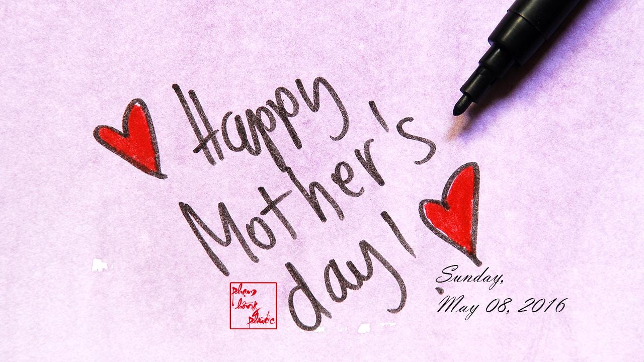 phạm hồng phướcHappy Mother's Day 2016 - phạm hồng phước