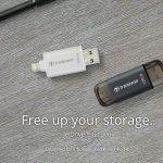 Ổ Flash drive Transcend JetDrive Go 300 hai đầu cắm