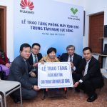 Công ty Huawei Việt Nam trao tặng phòng máy tính cho Trung tâm Nghị Lực Sống của người khuyết tật
