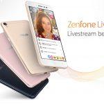 Asus ZenFone Live – smartphone chuyên livestream với chế độ làm đẹp trong khi đang lên sóng