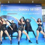 Ngày đầu tiên của bộ đôi Samsung Galaxy S8 và S8+ trên thị trường Việt Nam