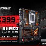 GIGABYTE ra mắt dòng bo mạch chủ X399 AORUS Gaming 7 cho CPU đa nhân AMD Ryzen Threadripper