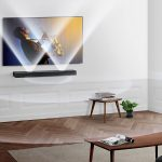 Loa thanh thế hệ mới Samsung Sound+ MS750 cho không gian nhỏ gọn và sang trọng