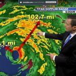 Có vẻ mụ phù thủy Irma đúng giờ và đúng hướng