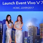 Smartphone Vivo V7+ với camera selfie 24MP ra mắt tại Việt Nam