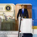 Tổng thống Mỹ Donald Trump đã tới Singapore